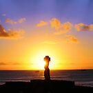 Ta-hai mohai. Easter Island, Pacific Ocean by Monica Di Carlo