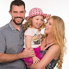 Suvi Mahonen with her husband and daughter by Suvi  Mahonen