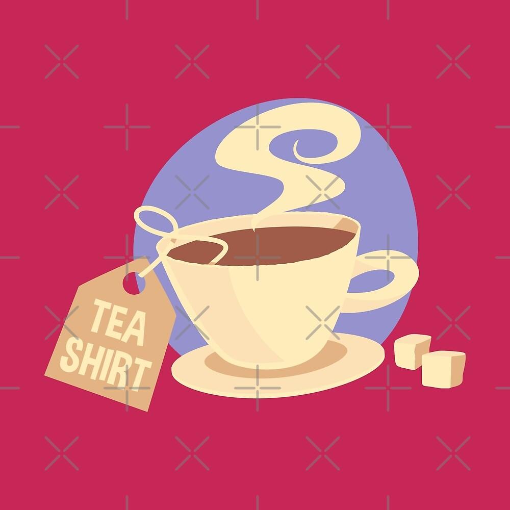 Tea Shirt 1 by Digital50