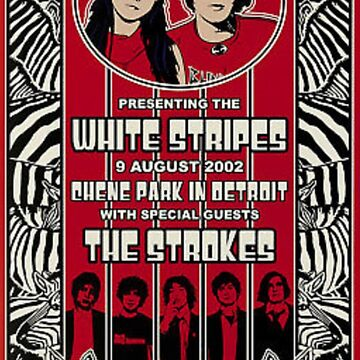 The White Stripes & The Strokes poster by abbabell