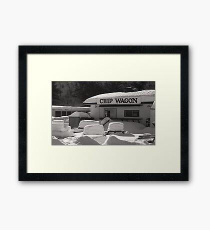 Chip Wagon Framed Print