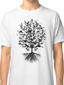 Musical Instruments Tree Classic T-Shirt