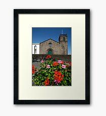 Sao Miguel Arcanjo church Framed Print
