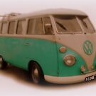 I Love You and my Camper Van by Pasha du Valentine by Pasha du Valentine