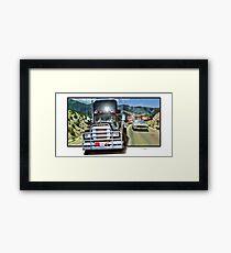Convoy Framed Print
