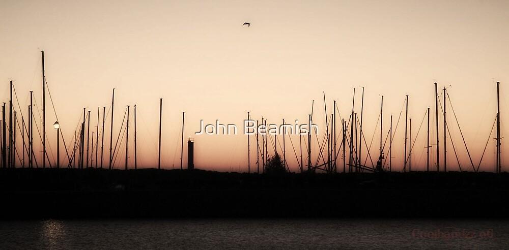 Morning Masts by John Beamish