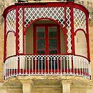 Mdina, Malta Window 2 by Alison Cornford-Matheson