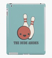 The Big Lebowski - The Dude Abides iPad Case/Skin