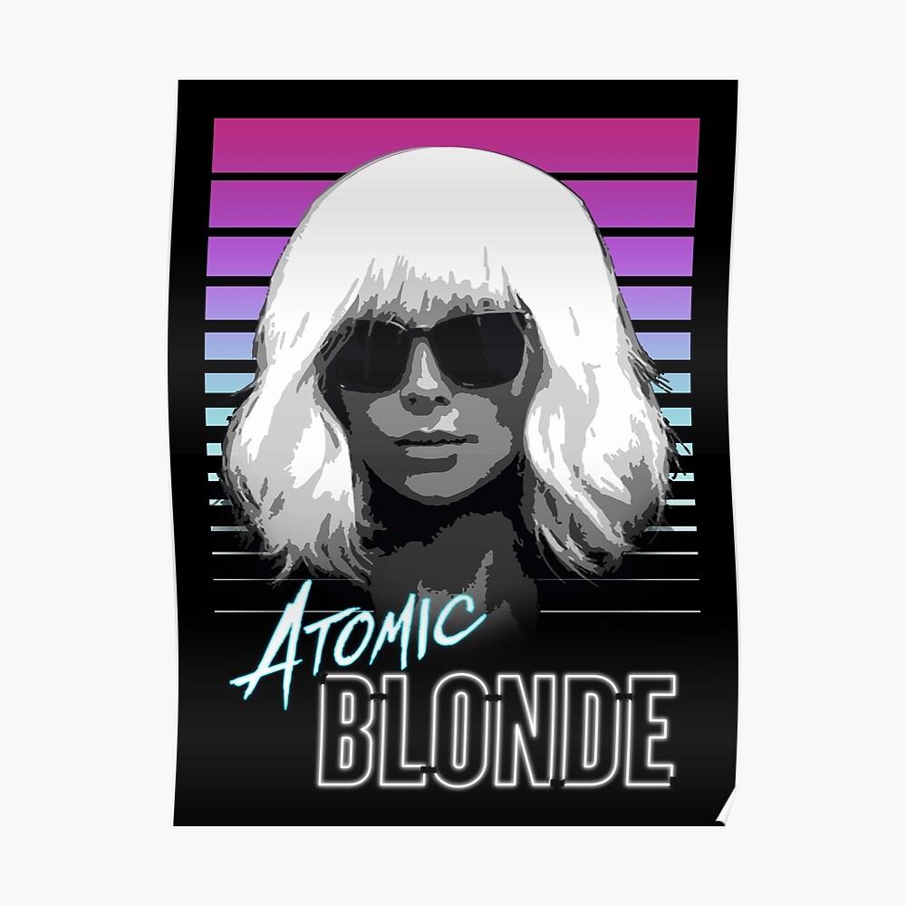 Atomare Blondine Poster