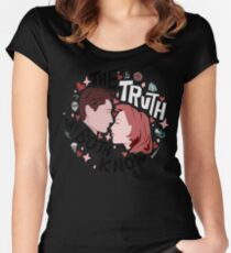 The Truth We Both Know Women's Fitted Scoop T-Shirt