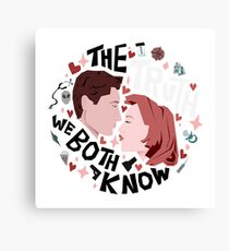 The Truth We Both Know Canvas Print
