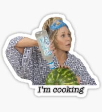 Grace and Frankie Vodka Watermelon Sticker