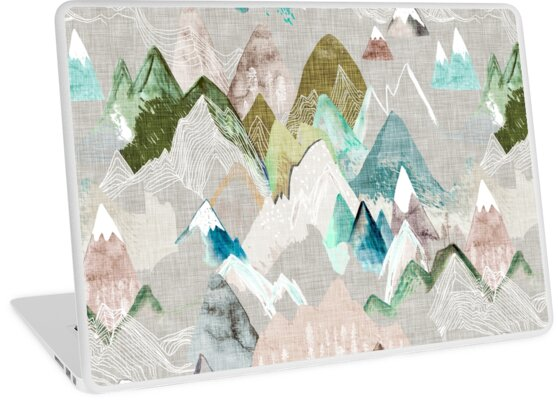 Call of the Mountains (in misty)  by Esther  Fallon Lau