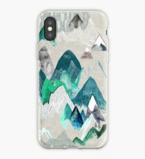 Call of the Mountains (in evergreen)  iPhone Case