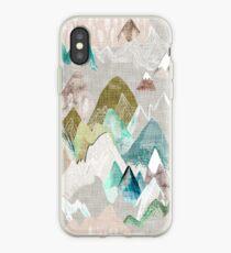 Vinilo o funda para iPhone Llamada de las montañas (en neblina)