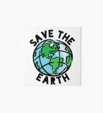 Save the Earth Art Board