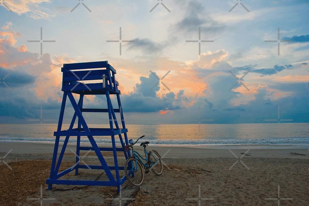 """Blues On North Beach by Arthur """"Butch"""" Petty"""
