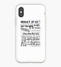Rewrite The Stars - The Greatest Showman iPhone Case