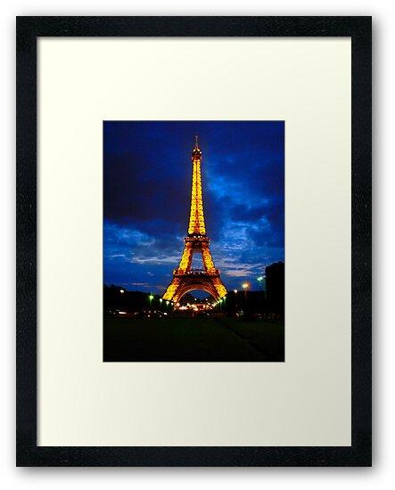 eiffel tower-beacon of light by Ryan Challis