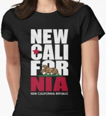New California Republic Women's Fitted T-Shirt