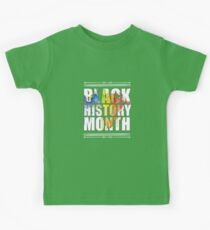 Black History Month - African American Kinder T-Shirt