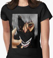 Tokyo Ghoul - Kaneki Womens Fitted T-Shirt