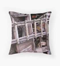 Details in the Hutongs two Throw Pillow