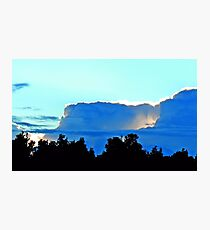 A storm is coming Photographic Print