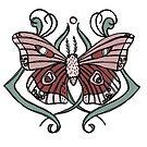 Nouveau Moth by ValerieBentley