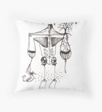 Creation Series #4 Throw Pillow