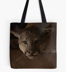 Magnificent Exciting Dangerous - The Mountain Lion Tote Bag