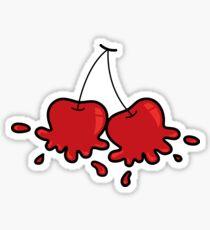 Splat! Cheeky Cherries Sticker