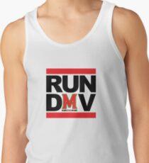 RUN DMV - White Men's Tank Top