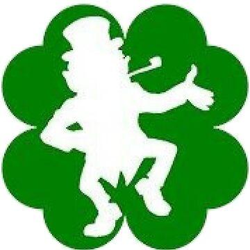 Irish Pride St. Patricks Day Ireland Shamrock Leprechaun by miztayk