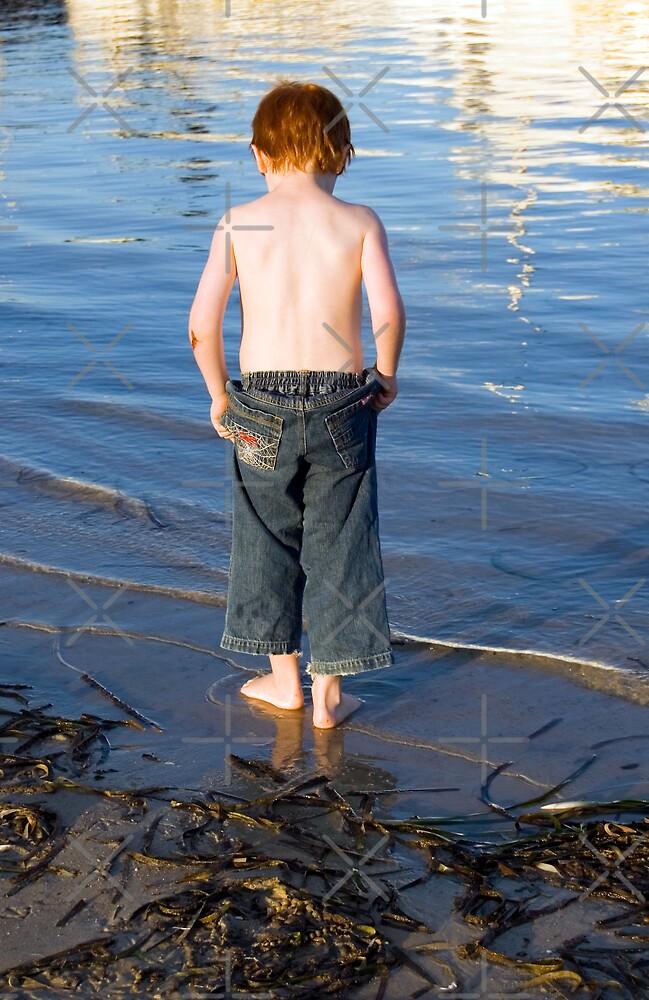 Boy in the Bay by Hayley Solich