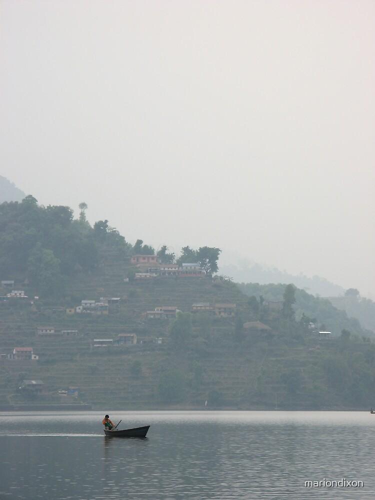 Pokara Lake Nepal by mariondixon