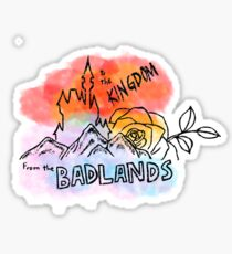 Badlands/HFK Sticker