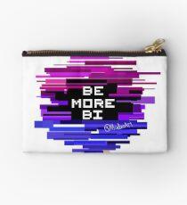Be more Chill, Be More Bi Design Studio Pouch
