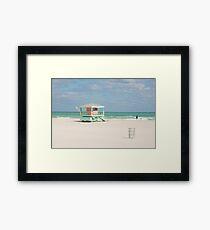 Soft colours Framed Print