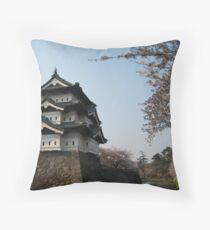Hirosaki Castle Throw Pillow