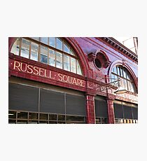 London 2011, Russell Square #3 Photographic Print