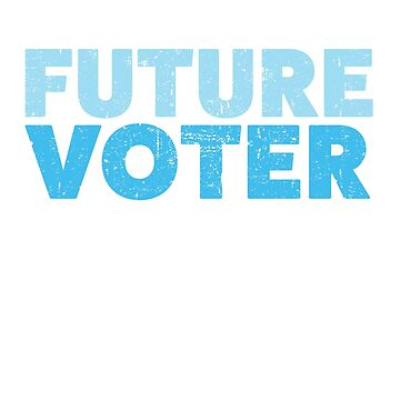 Future Voter Shirt Resist Political T-Shirt for Kids & Teens by mindeverykind
