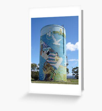 Terrific Tassie Tower Greeting Card