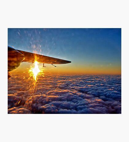 Trislander Sunset Photographic Print