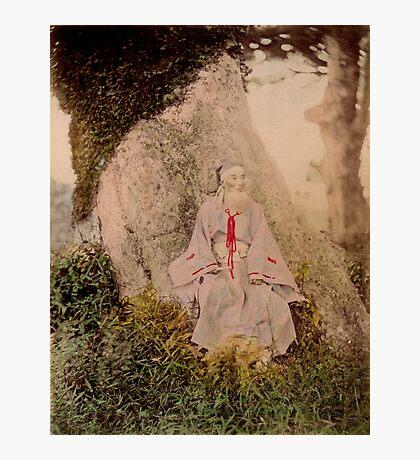 Shinto priest Photographic Print
