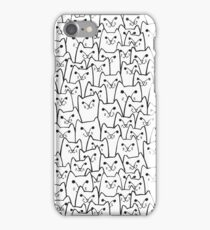 Sly cats iPhone Case/Skin