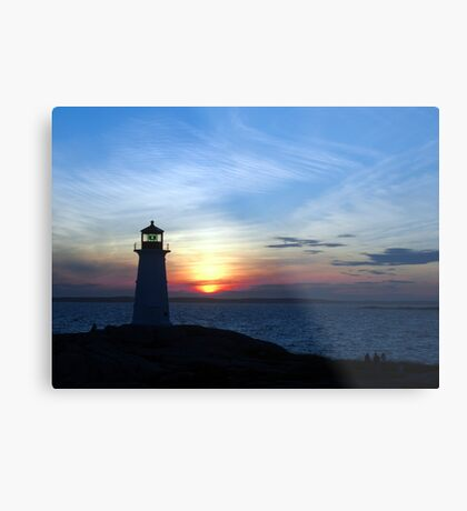 Enchanted Evening Metal Print