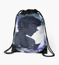 Lost at Sea Drawstring Bag