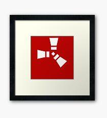 Rust Game Logo Framed Print