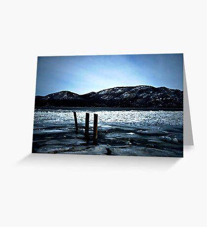 Hudson River Greeting Card
